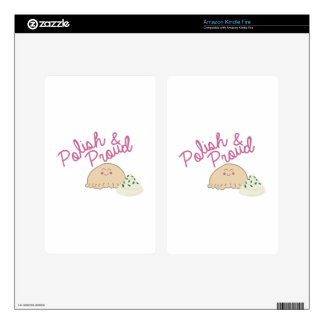 Proud Pierogi Decals For Kindle Fire