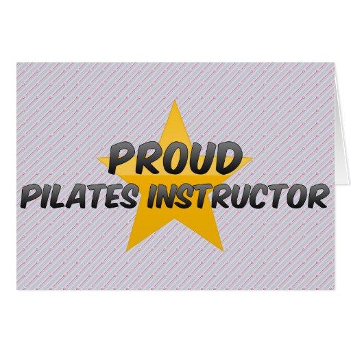 Proud Pilates Instructor Card
