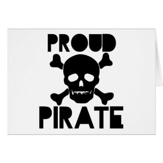 Proud Pirate Cards