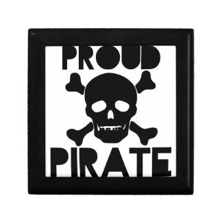 Proud Pirate Keepsake Box