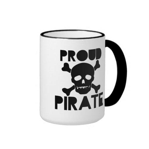 Proud Pirate Ringer Coffee Mug