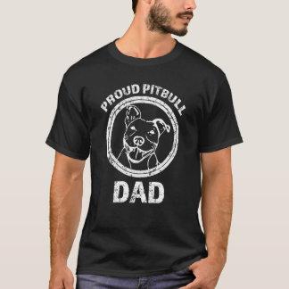 Proud Pitbull Dad mens shirt