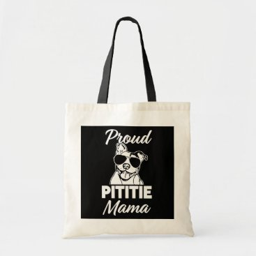 Beach Themed Proud Pittie Mama womens Pitbull Bag