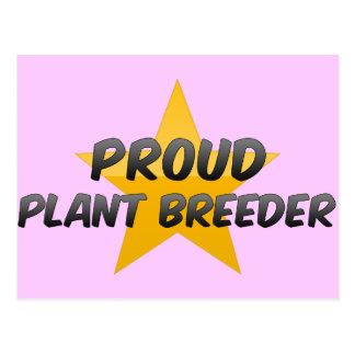 Proud Plant Breeder Postcard