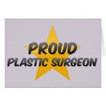 Proud Plastic Surgeon Greeting Cards