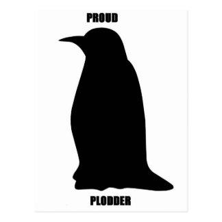 Proud Plodder Postcard