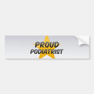 Proud Podiatrist Bumper Stickers