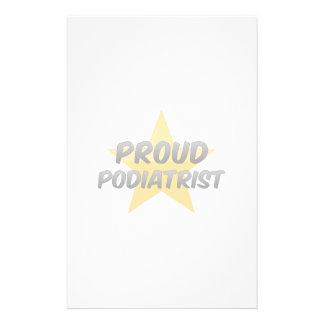 Proud Podiatrist Stationery