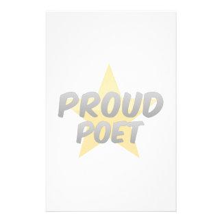 Proud Poet Custom Stationery