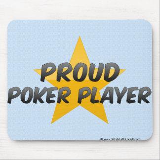 Proud Poker Player Mousepad