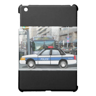 Proud Police Car in the City iPad Mini Covers