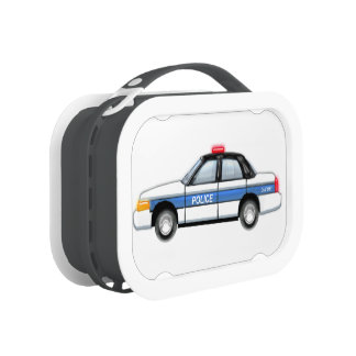 Proud Police Car Lunch Box