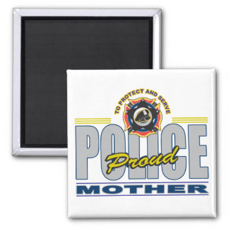 Proud Police Mother Magnet
