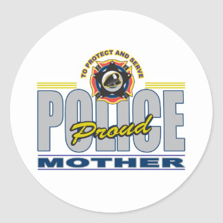 Proud Police Mother Sticker
