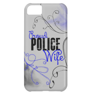 Proud Police Wife iPhone 5C Case