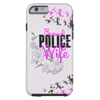 Proud Police Wife iPhone 6 Case