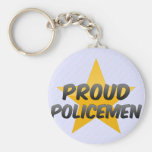Proud Policemen Keychain