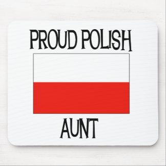 Proud Polish Aunt Mouse Pad