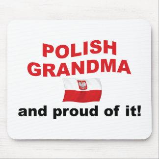 Proud Polish Grandma Mouse Pad
