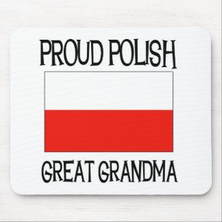 Proud Polish Great Grandma Mouse Pad