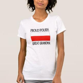 Proud Polish Great Grandma T Shirt