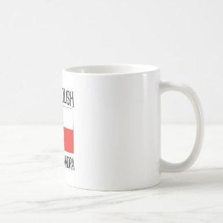 Proud Polish Great Grandpa Classic White Coffee Mug