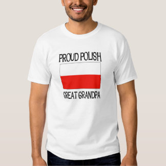 Proud Polish Great Grandpa T-Shirt