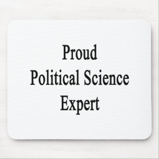Proud Political Science Expert Mouse Pad