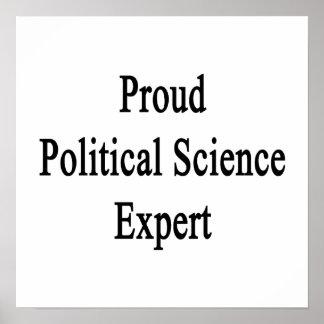 Proud Political Science Expert Print