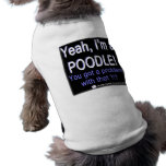 Proud Poodle - (Blue) - Dog Shirt