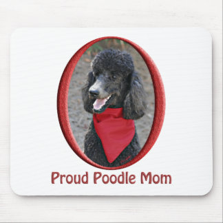 Proud Poodle Mom Mouse Pad