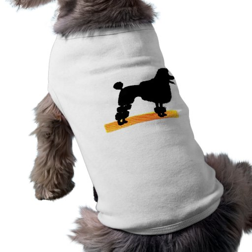Proud Poodle Pet T Shirt