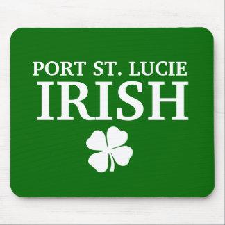 Proud PORT ST. LUCIE IRISH! St Patrick's Day Mouse Pad