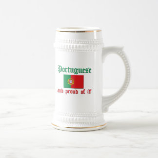 Proud Portuguese Beer Stein