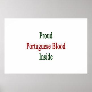 Proud Portuguese Blood Inside Poster