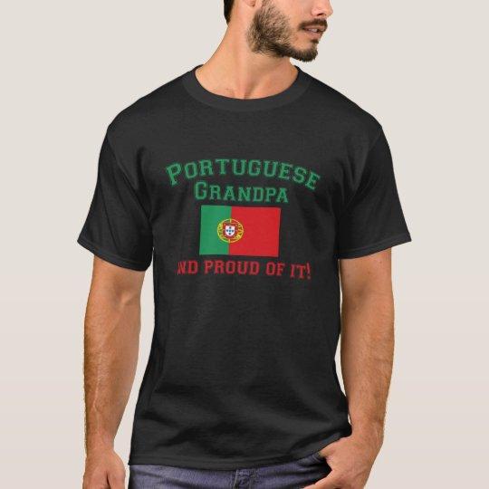 Proud Portuguese Grandpa T-Shirt