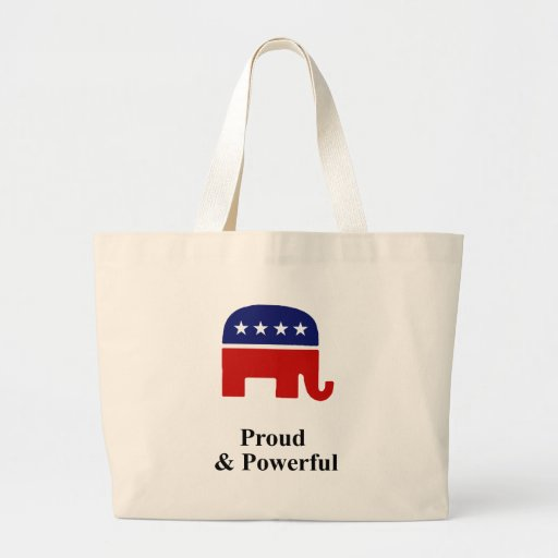 Proud & Powerful Canvas Bags