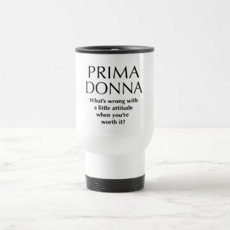 Proud Prima Donna - Funny Women's Power Travel Mug