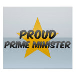 Proud Prime Minister Poster