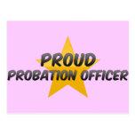 Proud Probation Officer Postcard