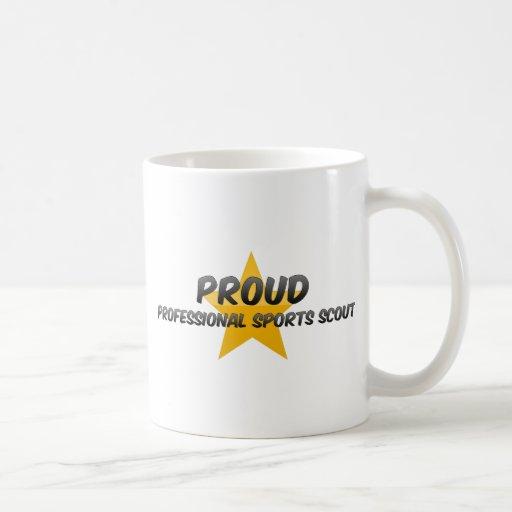 Proud Professional Sports Scout Coffee Mugs