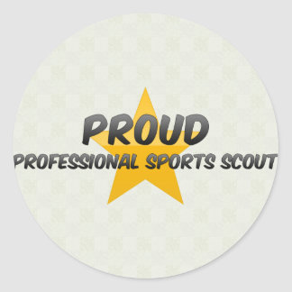 Proud Professional Sports Scout Stickers