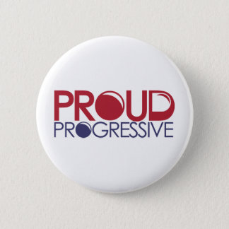 Proud Progressive Pinback Button