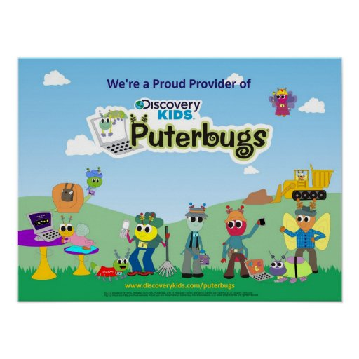 Proud Provider of Discovery Kids Puterbugs Print