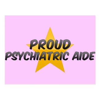 Proud Psychiatric Aide Post Card