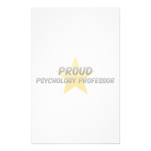 Proud Psychology Professor Stationery