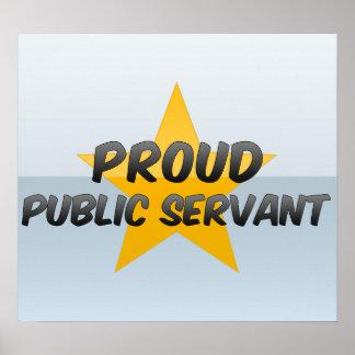 Proud Public Servant Poster