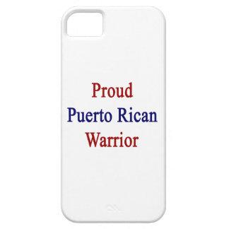 Proud Puerto Rican Warrior iPhone 5 Case