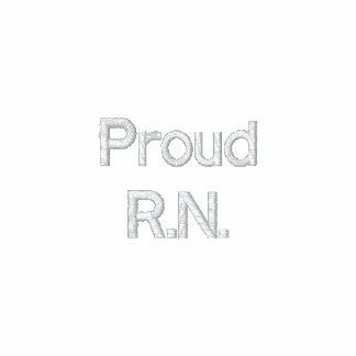 Proud R.N. Embroidered Hoody
