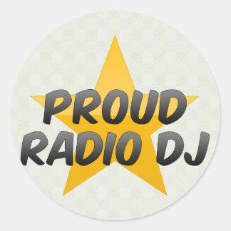 Proud Radio Dj Stickers
